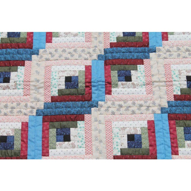 This finely pieced and quilted crib quilt was found in Lancaster County, Pennsylvania and is in pristine condition. The...