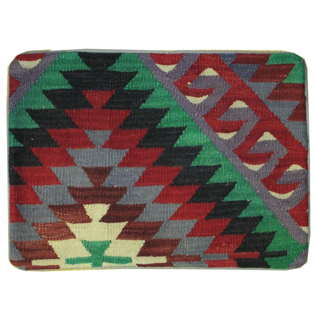 Vintage 1960s Turkish Kilim Pillow Cover - Image 1 of 3