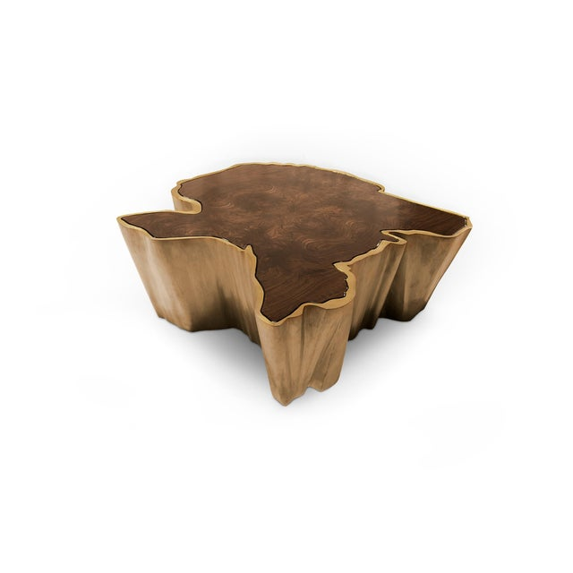Sequoia Center Table From Covet Paris For Sale - Image 4 of 8