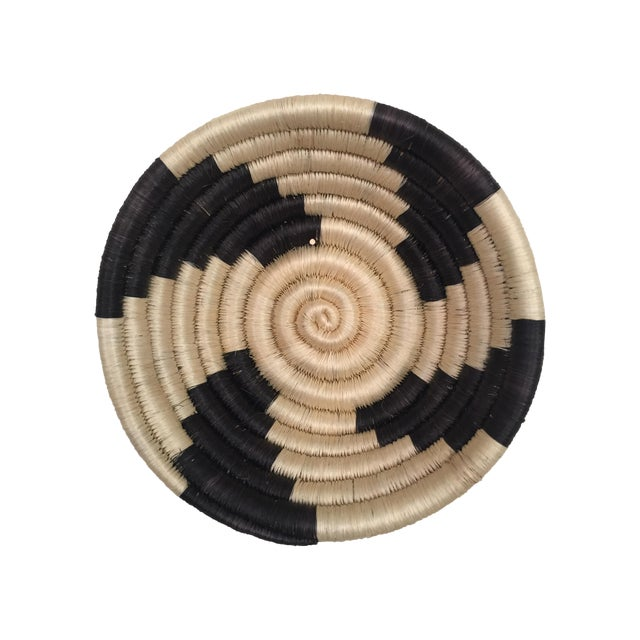 Woven Tribal Basket/Bowl - Image 1 of 4