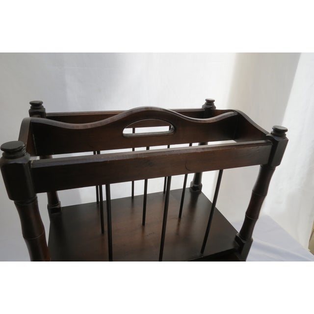 Canterbury Magazine Rack For Sale - Image 5 of 7