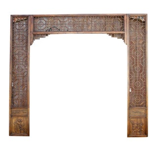 3pc Decorative Chinese Arch Facade For Sale