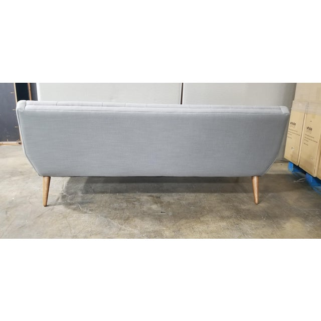 West Elm Mid- Century Modern Sofa For Sale - Image 4 of 5
