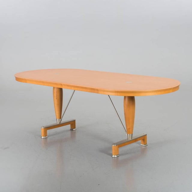 Metal Chi Wing Lo for Giorgetti Georgette Oblong Table For Sale - Image 7 of 7