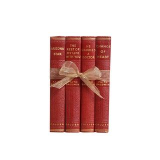 Vintage Decorative Book Gift Set: 1940's Faith Baldwin Novels For Sale