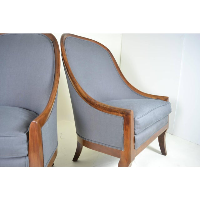 Spoon Back Chairs by Baker Furniture - Image 4 of 9