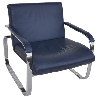 Midcentury Lounge Chair in the Style of Milo Baughman For Sale