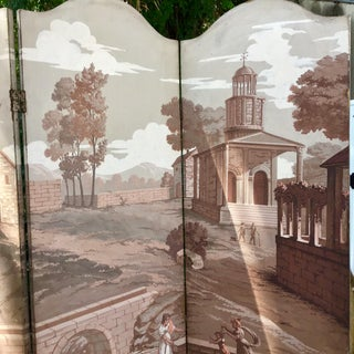 French Style Classical Folding Painted Floor Screen Preview