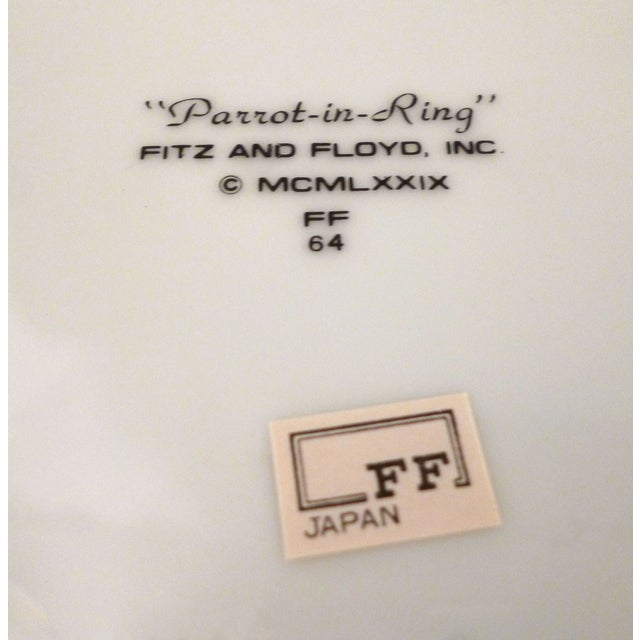 Fritz and Floyd Parrot in Ring Plates - 8 For Sale In Miami - Image 6 of 6