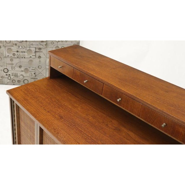 Mid-Century Modern High Chest Dresser With Separate Jewelry Compartment on Top For Sale - Image 9 of 10