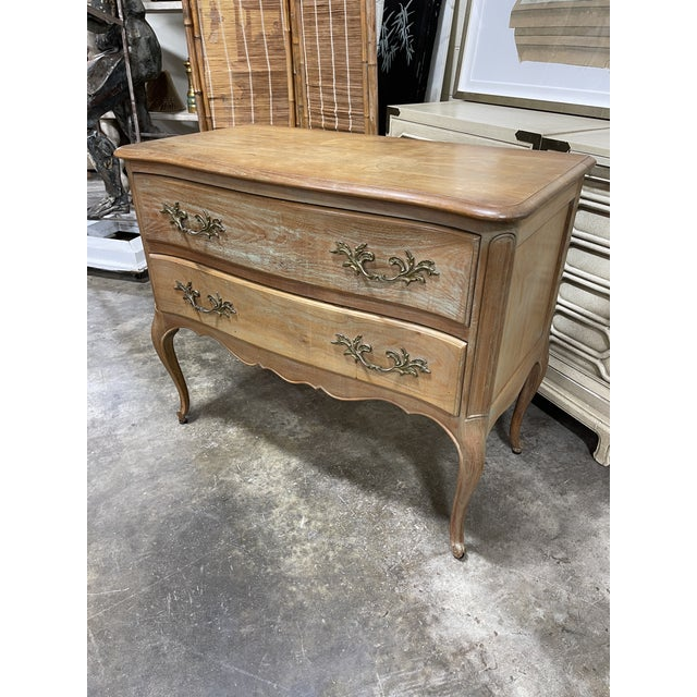 Bleached Walnut Queen Anne Lowboy Silver Chest For Sale In Richmond - Image 6 of 6