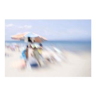 """Cheryl Maeder """"Beach Series XIII"""" Photographic Watercolor Print For Sale"""