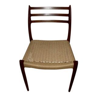 Niels Moller Model Walnut 78 Side Chair