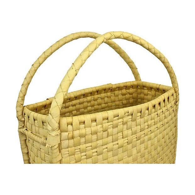 Coconut Palm Market Basket - Image 5 of 5