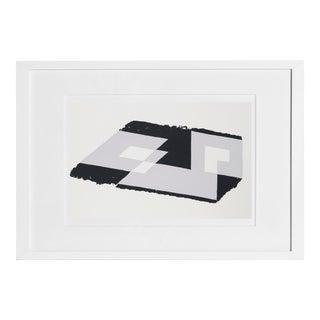 Josef Albers - Portfolio 1, Folder 13, Image 2 Framed Silkscreen For Sale