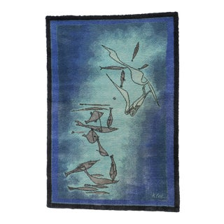 Paul Klee Art Rug by Ege Axminster - 4′7″ × 6′7″ For Sale