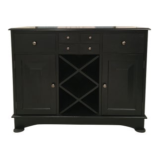 Pottery Barn Bar Sideboard For Sale
