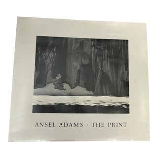 Ansel Adams Frozen Lake & Cliff Poster For Sale