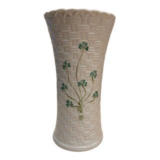 Beleek Coleen Shamrock Vase For Sale