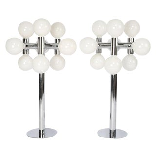 PAIR OF ROBERT SONNEMAN TABLE LAMPS