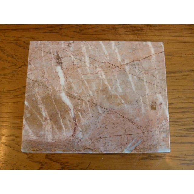 Pink Marble Box For Sale - Image 5 of 9