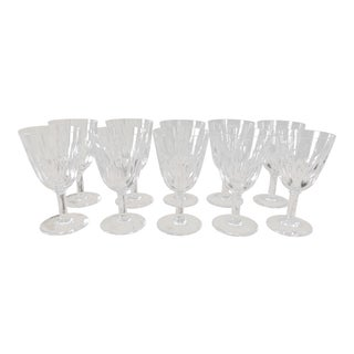Vintage Baccarat Crystal Cordials- Set of 10 For Sale
