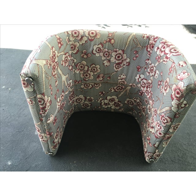 Vintage Waterfall Ottoman - Image 6 of 6