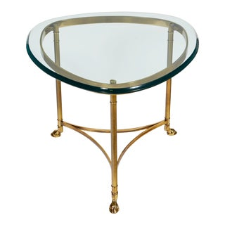 1960s LaBarge Triangular Side Table For Sale