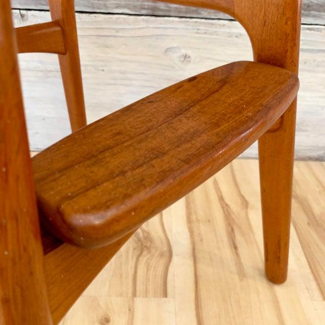 Erik Buch Danish Modern Teak Bar Stools - a Pair For Sale - Image 11 of 13