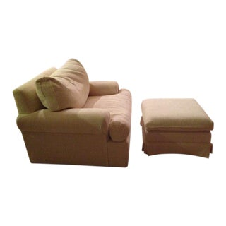Kreiss Chair & Ottoman - A Pair
