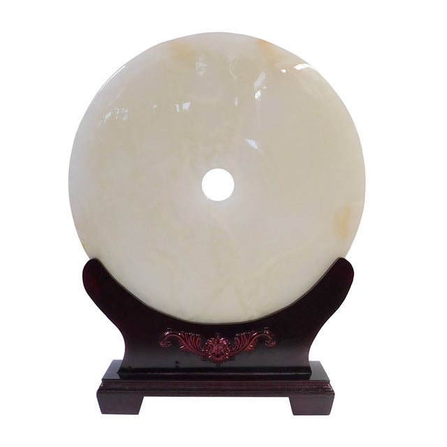 Chinese Round Natural Stone For Sale - Image 4 of 8