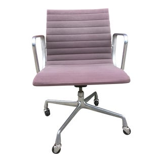 1970s Vintage Eames Aluminum Group for Herman Miller Office Chair For Sale