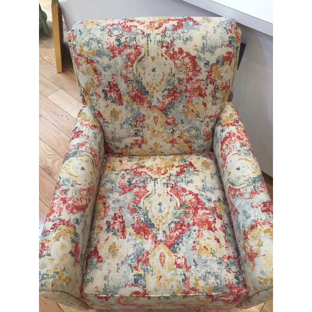 Vintage Modern Bassett Ridgebury Accent Chair For Sale In Las Vegas - Image 6 of 7