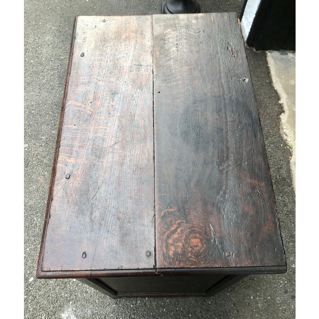 18th Century Georgian Oak Cabinet For Sale In New York - Image 6 of 13