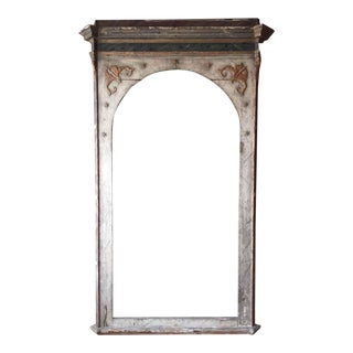 "Tall Italian Antique Frame From Private Chapel- 99""h For Sale"
