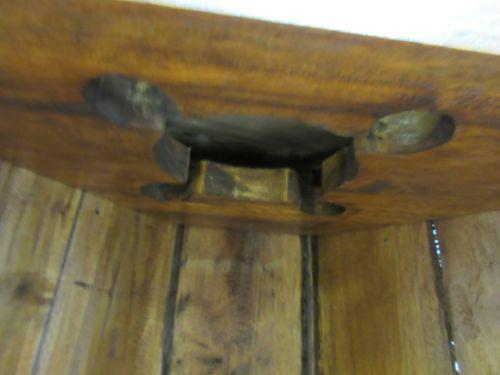 2000s Custom Reclaimed Teak Viking Ship Boat Corner Wine Storage Trunk Desk  For Sale   Image