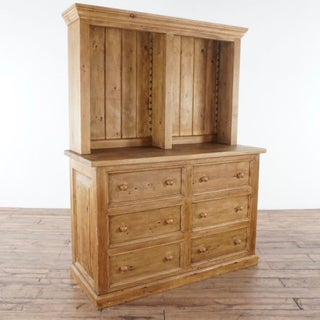 Harvest Furniture Wooden Hutch Preview