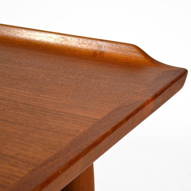 Wood Arne Vodder Server / Console Table by Sibast For Sale - Image 7 of 11