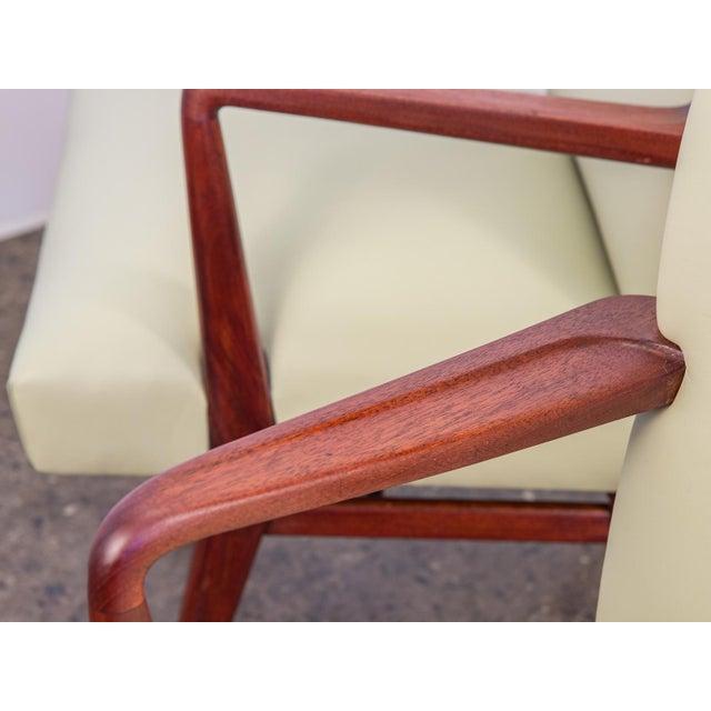 Jens Risom Model 108 Walnut Side Chairs - Image 8 of 11