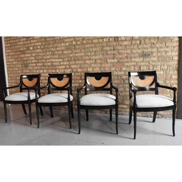 Regency Dining Chairs - Set of 4 - Image 2 of 8