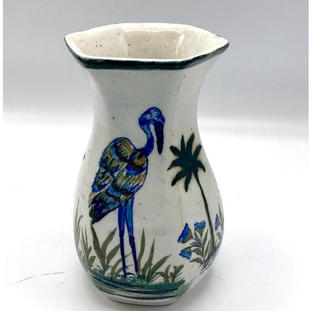 Ceramic Edo Period Japanese Stoneware Vase For Sale - Image 7 of 7