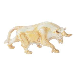 Decorative Marble Bull