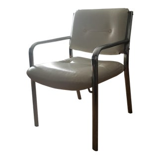 1970s Modern Milo Baughman Chrome Tubular Chair