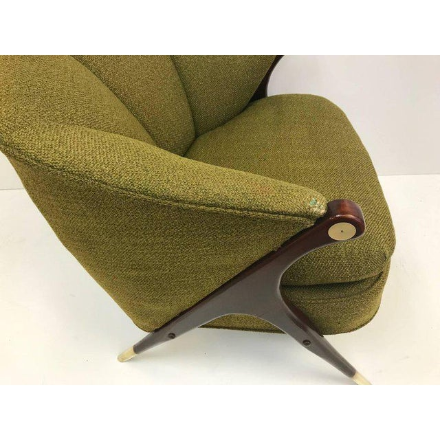 1950s Karpen of California Mid-Century Modern Lounge Chairs For Sale - Image 5 of 5