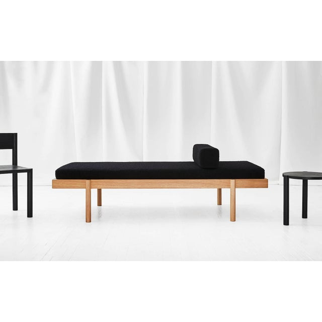 Wc2 Daybed by Ash Nyc in White Oak For Sale In New York - Image 6 of 10