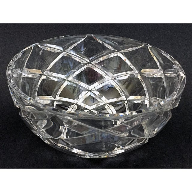 Contemporary Tiffany Diamond Cut Bowl For Sale - Image 3 of 6