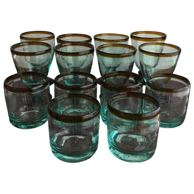 Tag Glassware - Set of 14 - Image 1 of 4