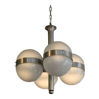 "Sergio Mazza ""Tetraclio"" Chandelier for Artemide For Sale"