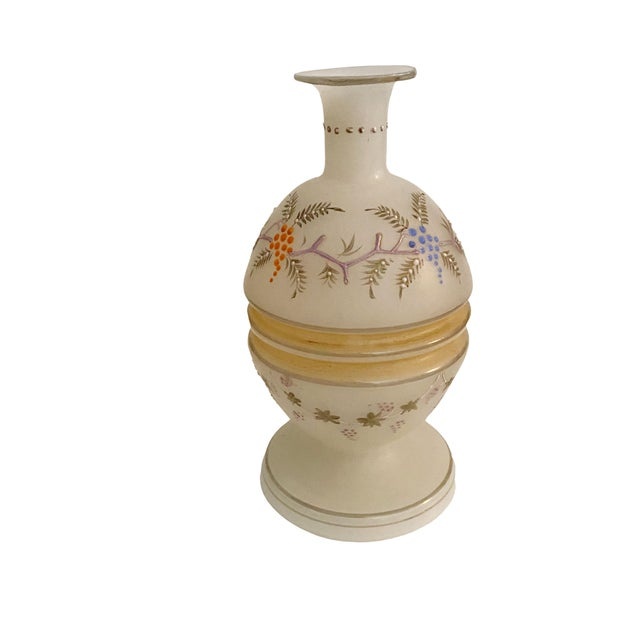 Victorian Victorian Opaline Vase For Sale - Image 3 of 7