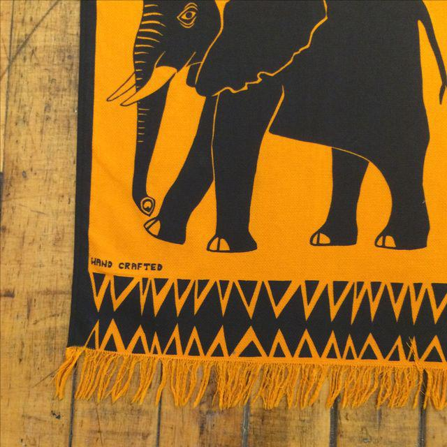 Silkscreen Wall Hanging - Vintage - Image 3 of 7